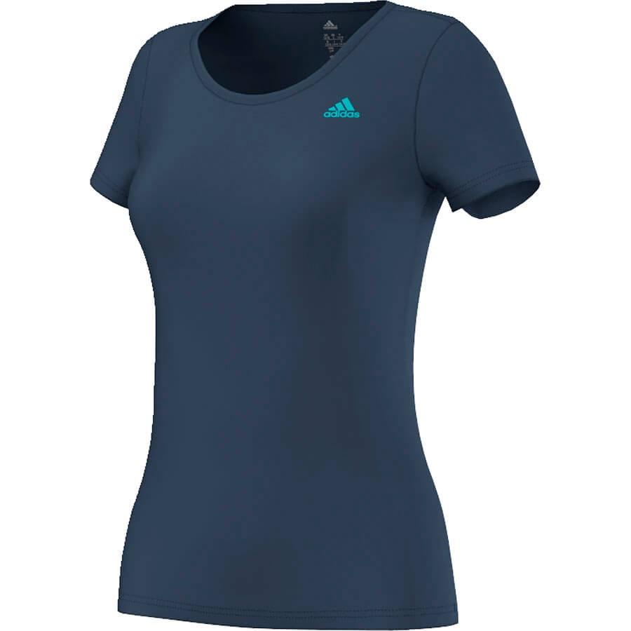 Dames sportshirt Adidas Basic Solid Tee