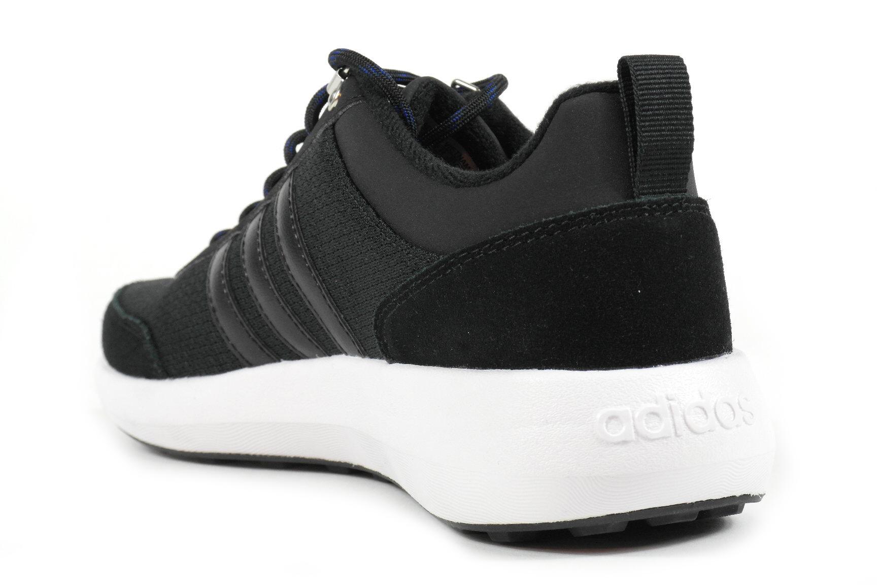 adidas cloudfoam race sneakers zwart dames