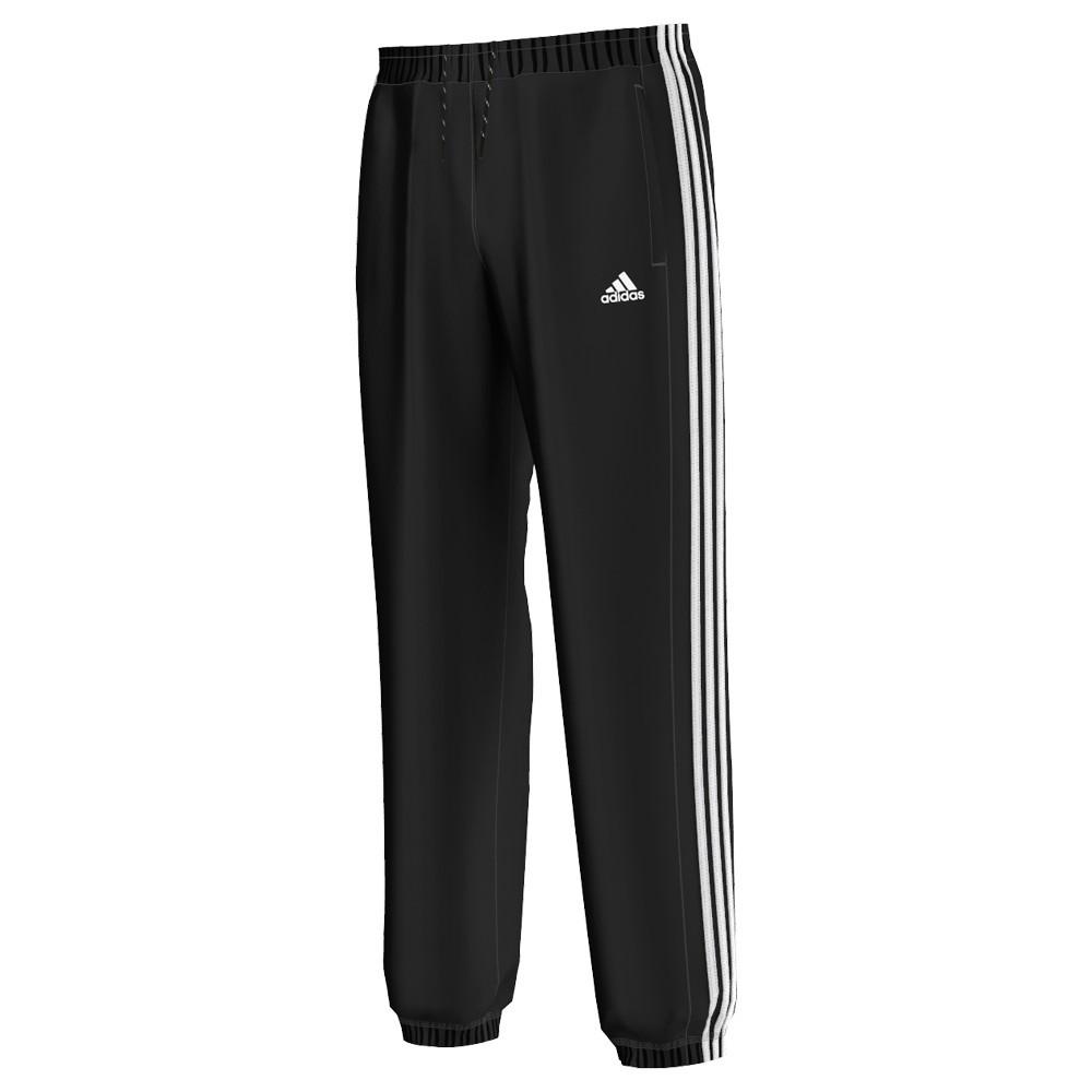 Adidas +hele witte streep Heren sportbroek