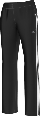 Adidas +hele witte strepen Dames sportbroek