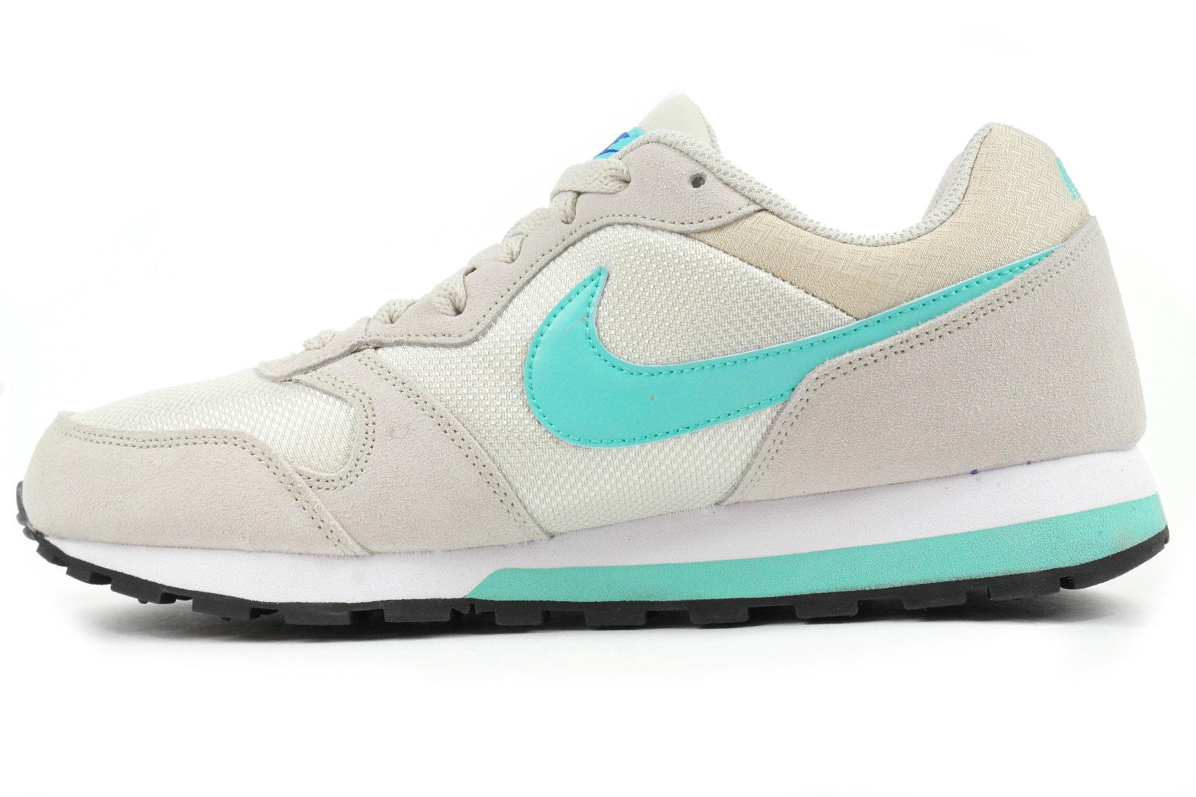 ... Nike MD Runner 2 Dames sneakers midden grijs ...