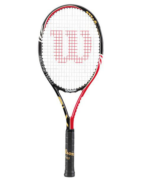 wilson 6 1 lite competitie tennisracket antraciet competitie rackets tennisrackets tennis. Black Bedroom Furniture Sets. Home Design Ideas