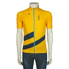 36 Cycling Jersey Pro Men heren wielershirt oker