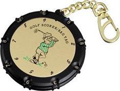 ACM 18 Holes Scorer golf accessoires lichtgeel