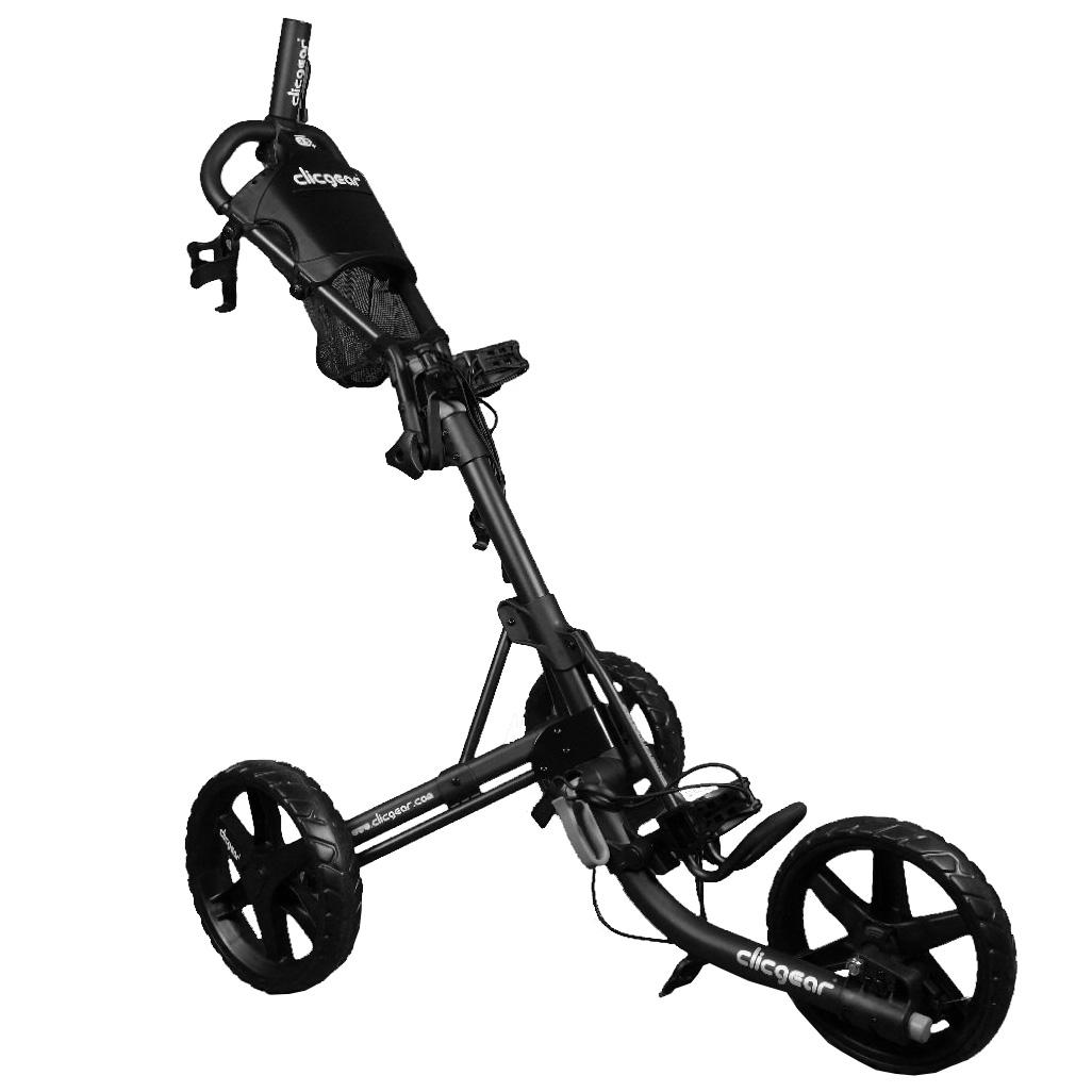 Afbeelding van ACM Clicgear Black golf kar zwart
