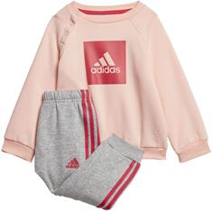 Adidas 3 Stripes Fleece Joggingpak meisjes trainingspak rose