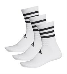 Adidas 3-Stripes sportsokken wit