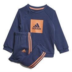 Adidas 3S Logo Jogging junior trainingspak marine