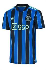 Adidas Ajax 21/22 Uitshirt heren voetbalshirt blauw dessin
