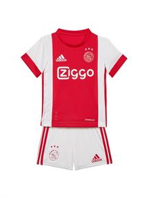 Adidas Ajax Baby Set Thuis jongens sportshirt wit