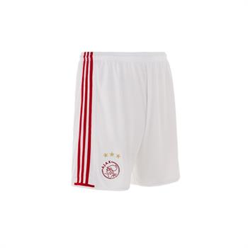 Adidas Ajax Home Shorty Junior voetbalbroekje WIT