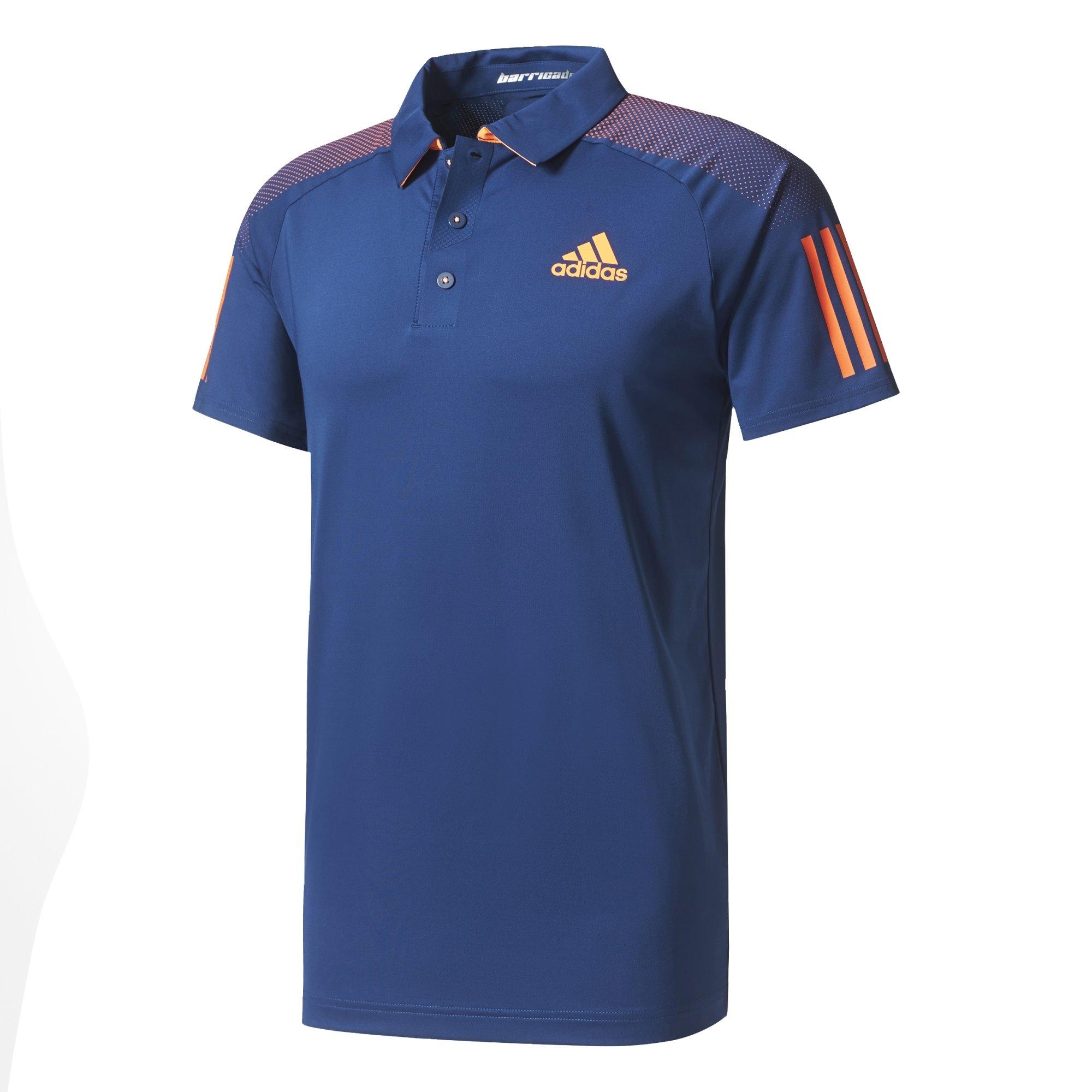 Adidas Barricade Polo Heren tennisshirt