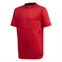 ADIDAS Barricade Tee jongens shirt rood