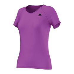 Adidas Basic Perfo Tee Dames sportshirt