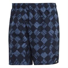 Adidas Check Short heren beach short blauw