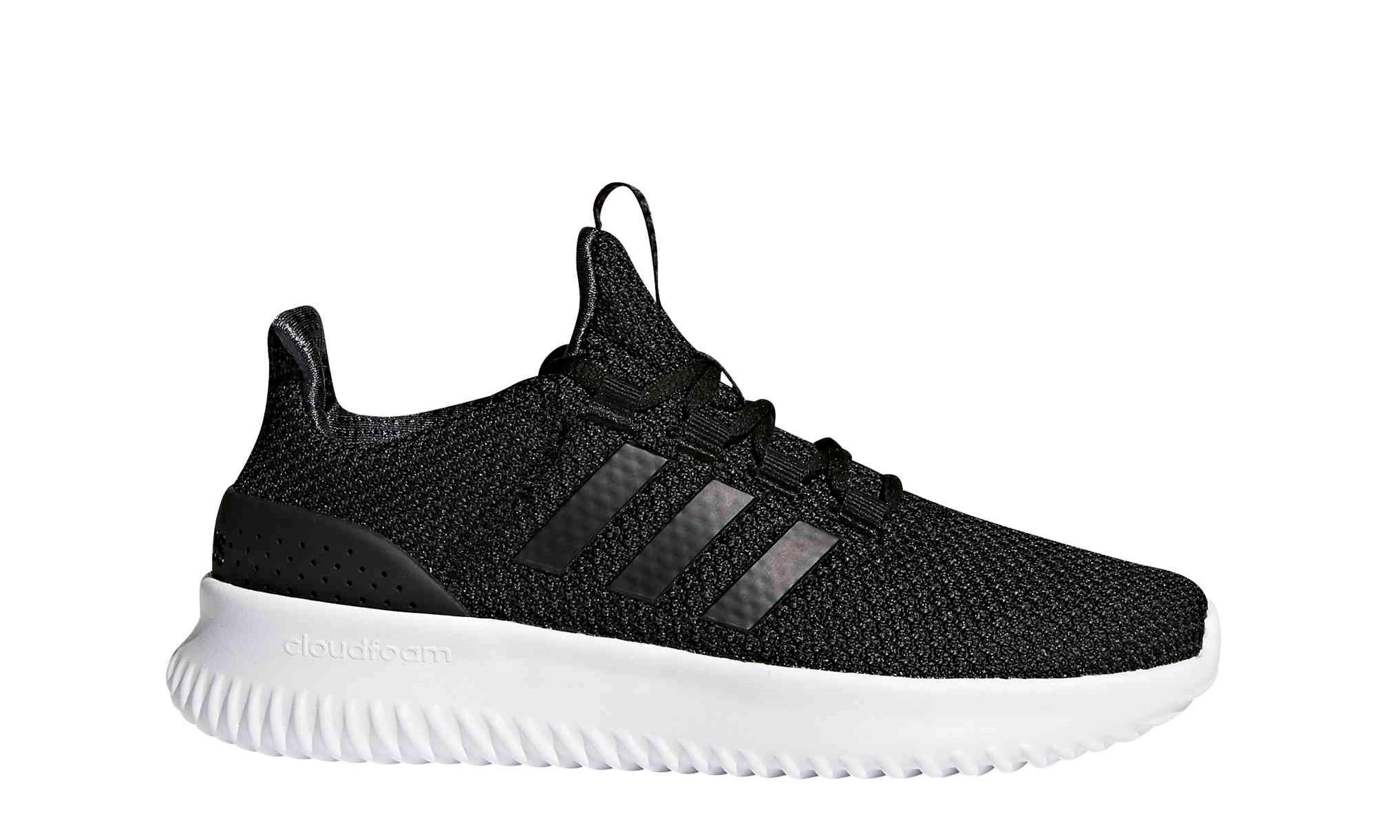 ad44850ae3a ADIDAS Cloudfoam Ultimate junior schoenen zwart