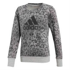 ADIDAS Crew Sweat meisjes sweater midden grijs