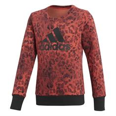 ADIDAS Crew Sweat meisjes sweater steenrood