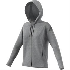 ADIDAS dames sportsweater midden grijs