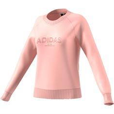 Adidas dames sportsweater zalm