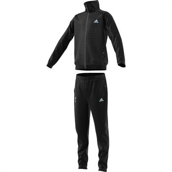 Adidas DJ1277 Junior trainingspak antraciet