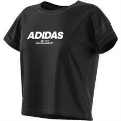 ADIDAS Dq1416 dames sportshirt zwart