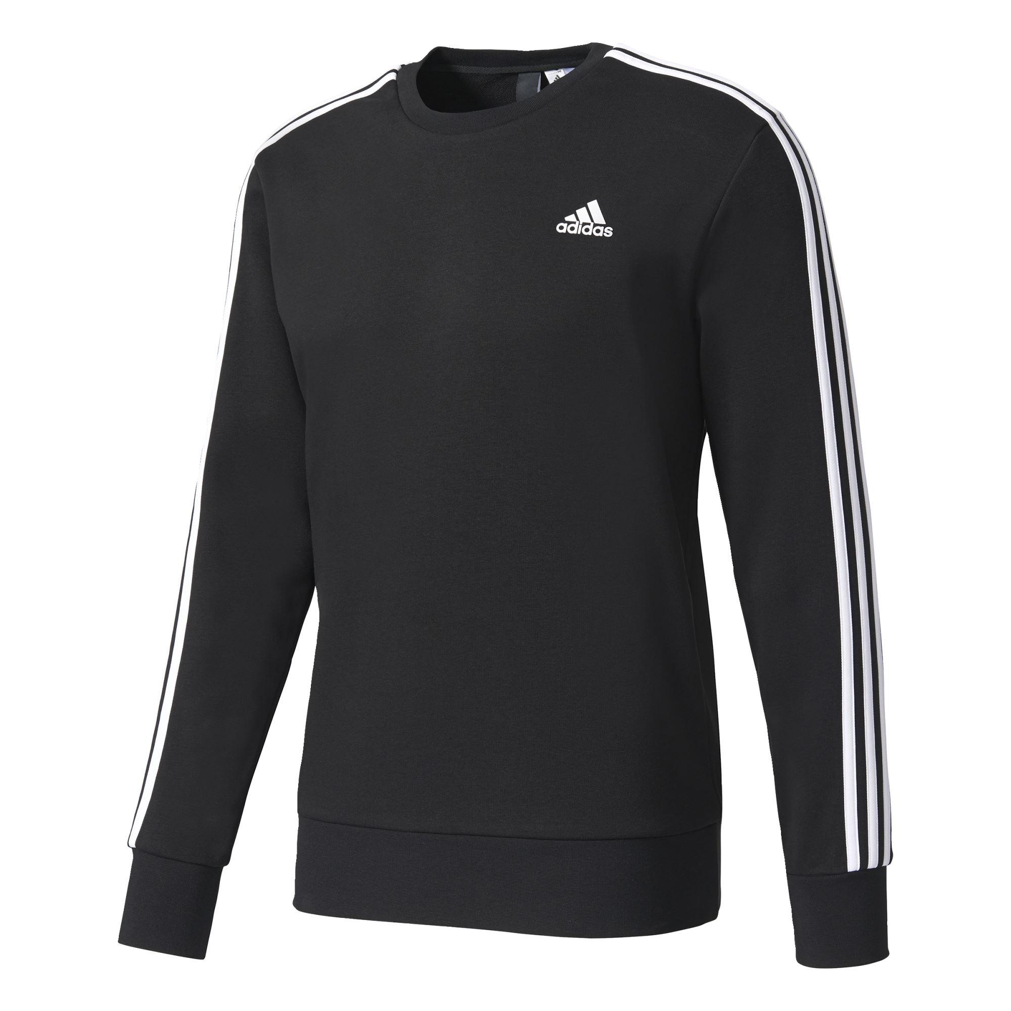 Adidas Ess 3S Crew Ft Heren sportsweater