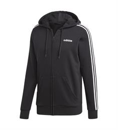 Adidas Essential 3 Stripes Training Jack heren sportsweater zwart