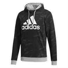 Adidas Essential Allover Print Hoody heren sportsweater zwart
