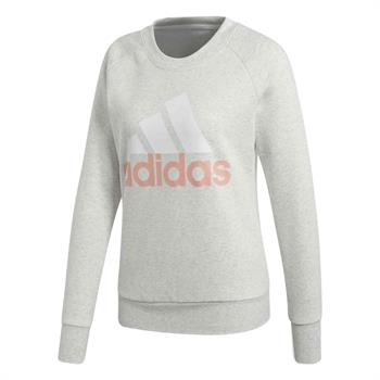 Adidas Essential Sweat Dames sportsweater LICHT GRIJS