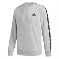 Adidas Essential Tape Sweat heren sportsweater midden grijs