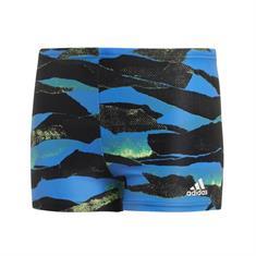 Adidas Fit BX jongens zwembroek blauw dessin