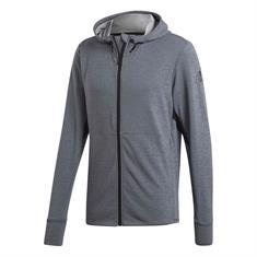 ADIDAS FZ Climacool heren sportsweater midden grijs