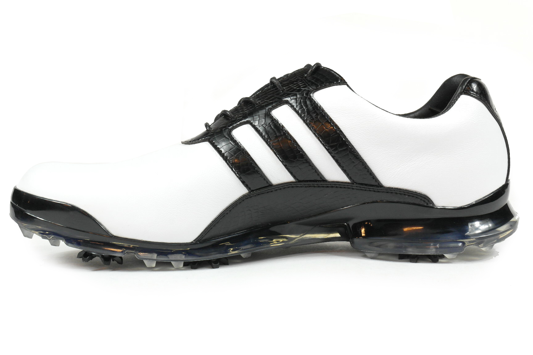 0d6fcdf9164 Adidas golf Adipure Classic heren golf schoenen wit van golfschoenen
