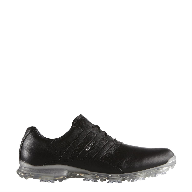 56c1bb1c22b Adidas golf Adipure Classic heren golf schoenen zwart van golfschoenen