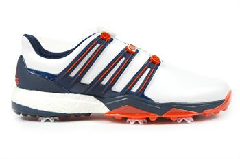 Adidas Golf Powerband Boost Boa Heren golf schoenen WIT