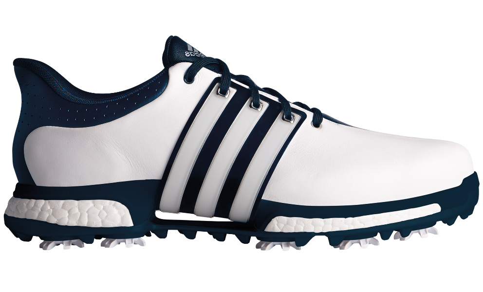 75b30ca5a07 Adidas golf Tour 360 Boost WD heren golf schoenen wit van golfschoenen
