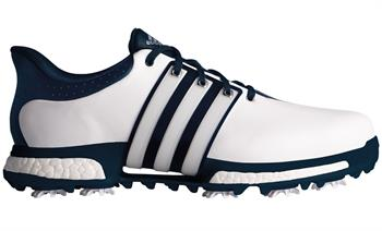 Adidas Golf Tour 360 Boost WD Heren golf schoenen WIT