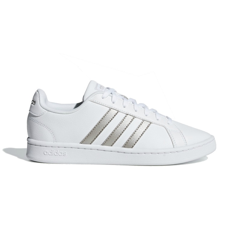 ebd553657aa Adidas Grand Court Dames sneakers WIT op Herqua.nl