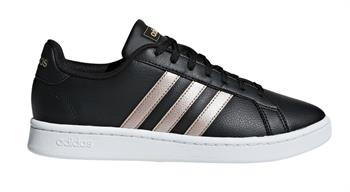 Adidas Grand Court Dames sneakers ZWART