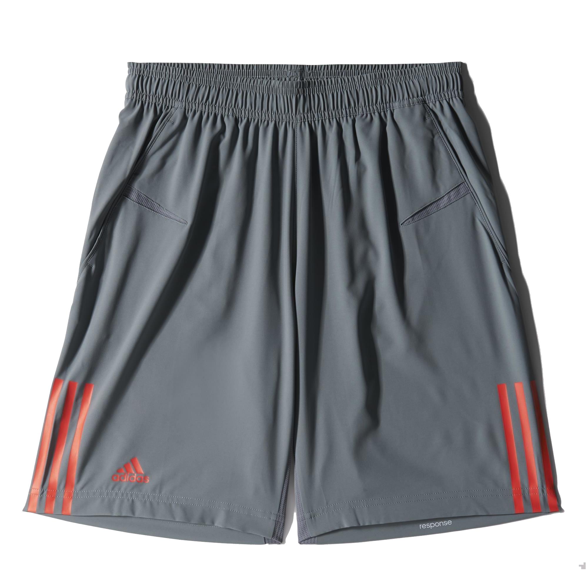heren sport short Adidas S15711 RESPONSE antraciet