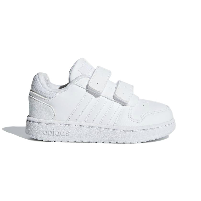 cd929ef3831 ADIDAS Hoops 2.0 baby schoenen wit van sneakers