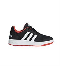 Adidas Hoops 2.0K junior schoenen zwart