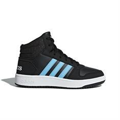 ADIDAS Hoops mid junior schoenen zwart
