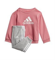 Adidas I BOS Jog FT meisjes fitnesspakje rose