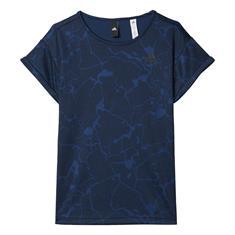ADIDAS ID Loose Tee meisjes sportshirt blauw