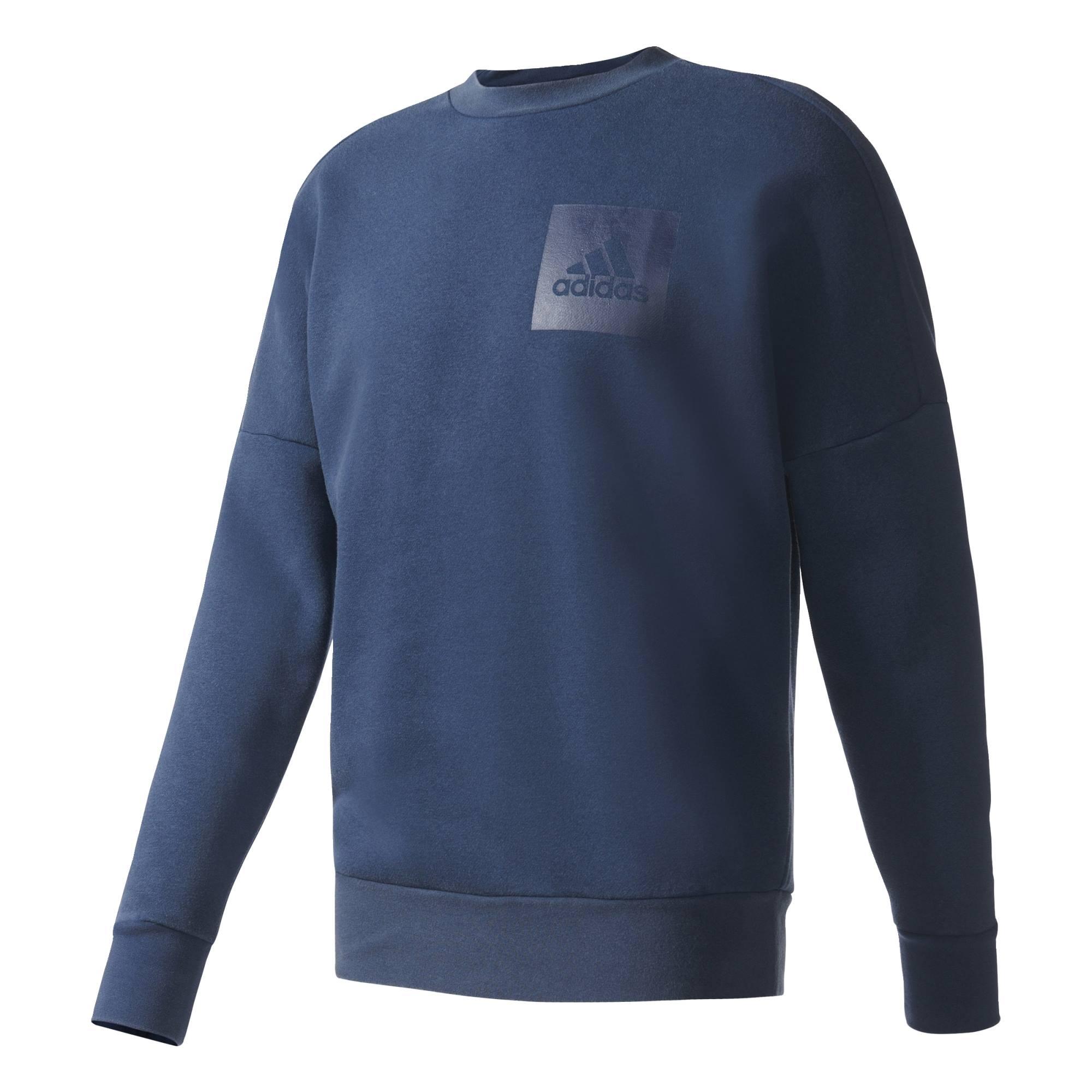 Adidas Id Snowwash Crew Heren sportsweater
