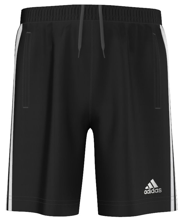 kinder sport short Adidas G81806 POLY JR ZWART