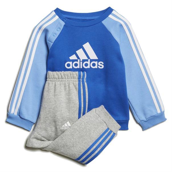 Adidas junior trainingspak blue