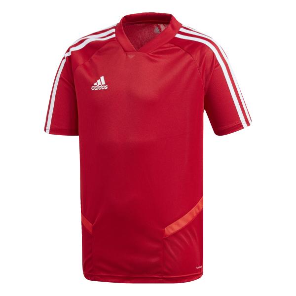Adidas junior voetbalshirt rood